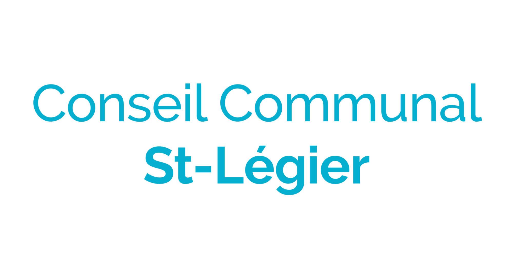 Conseil communal St-Légier
